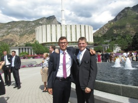 pday provo temple trip